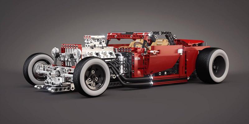 Evoluzione Tecnologia Automobilistica dei LEGO (1977 - 2019)