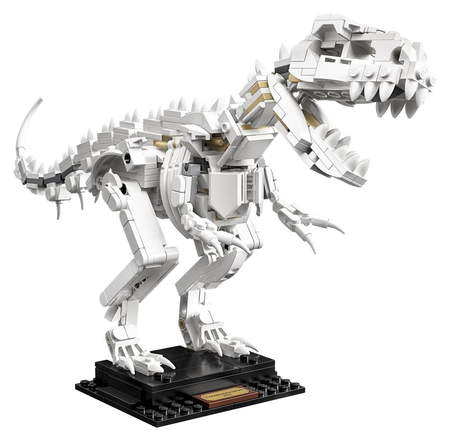 LEGO Ideas - Fossili di Dinosauro - set 21320 - Tirannosauro