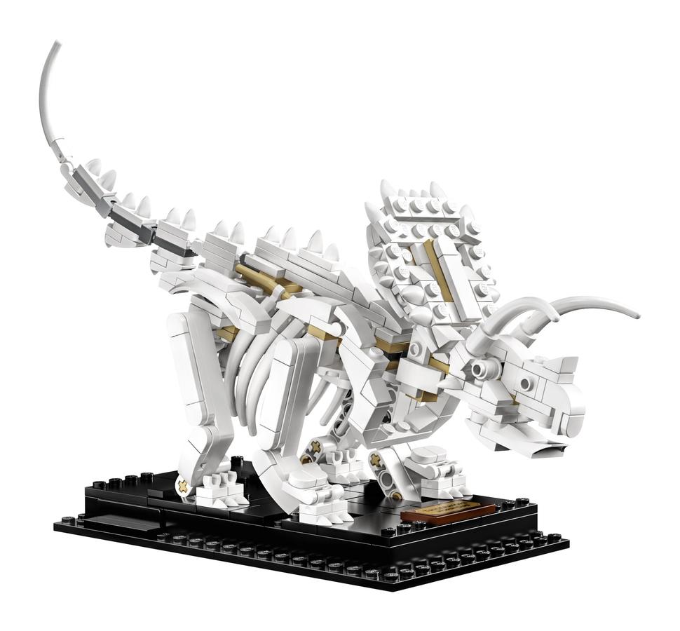 LEGO Ideas - Fossili di Dinosauro - set 21320 - Triceratopo