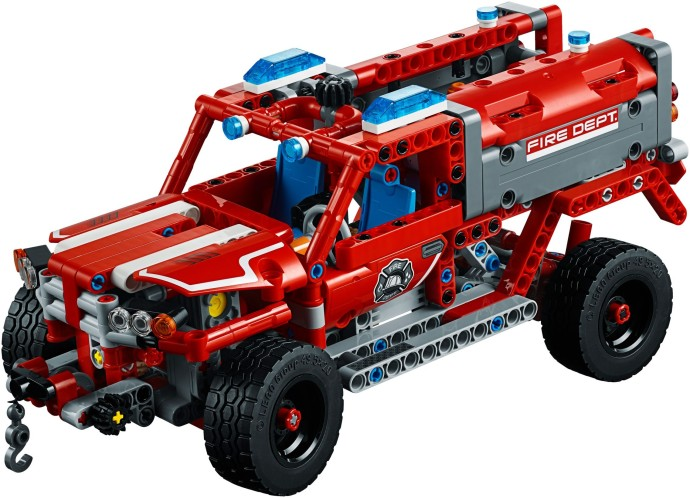 LEGO Technic Auto da Primo Soccorso dei Pompieri 42075 (2018)