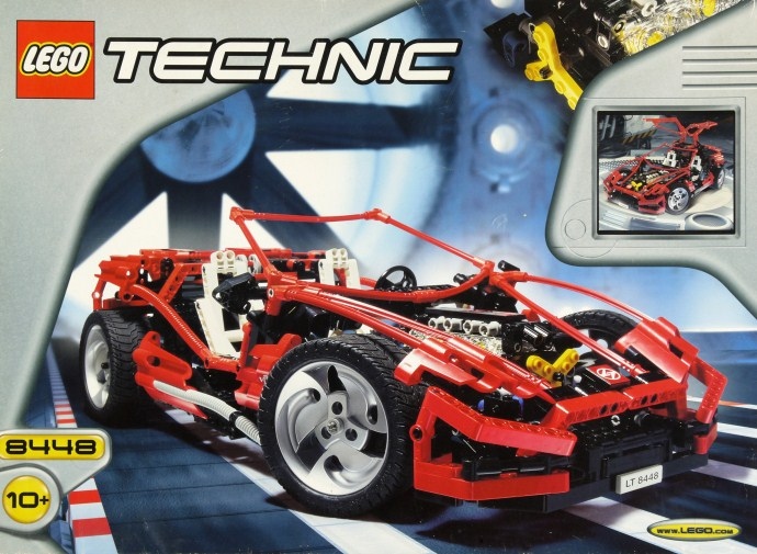 LEGO Technic Auto Super Street Sensation 8448 (1999)