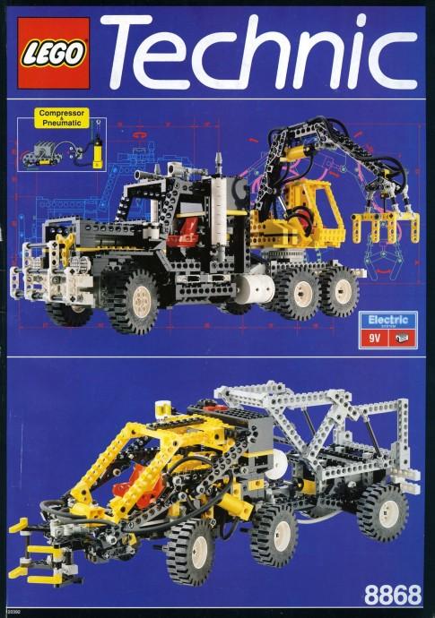LEGO Technic Camion con Artiglio e impianto ad aria 8868 (1992)