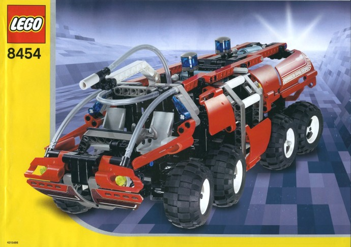 LEGO Technic Camion di Salvataggio dei Pompieri 8454 (2003)