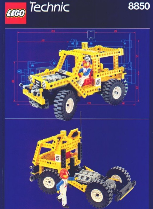 LEGO Technic Camion di supporto Rally 8850 (1990)