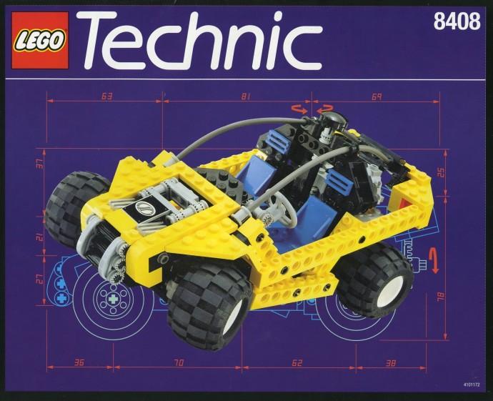 LEGO Technic Dune Buggy Guardia Forestale del Deserto 8408 (1996)