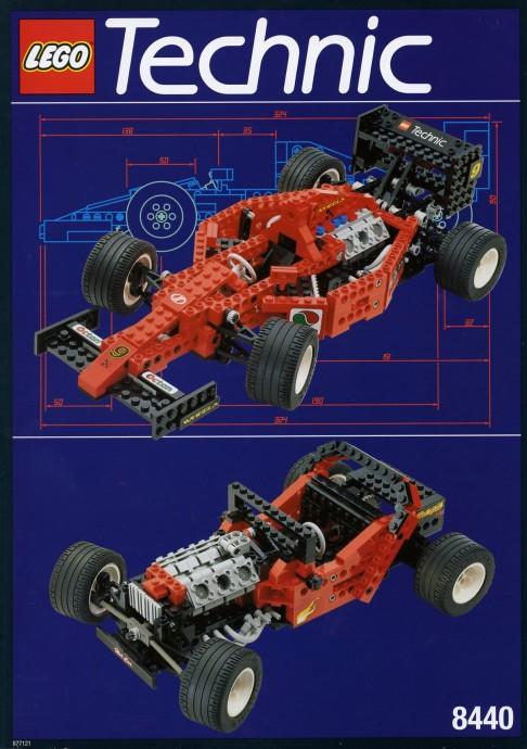 LEGO Technic F1 Auto da Corsa 8440 (1995)