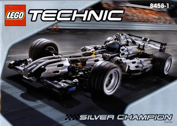 LEGO Technic F1 Auto da Corsa Campione d'Argento 8458 (1994/2000)