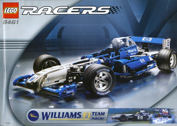 LEGO Technic F1 Williams Squadra Corse 8461 (2002)