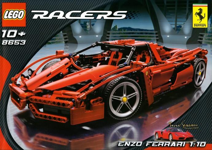 LEGO Technic Ferrari Enzo Ferrari scala 1:10 8653 (2005)