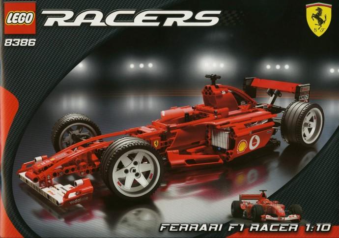 LEGO Technic Ferrari F1 scala 1:10 8386 (2004)
