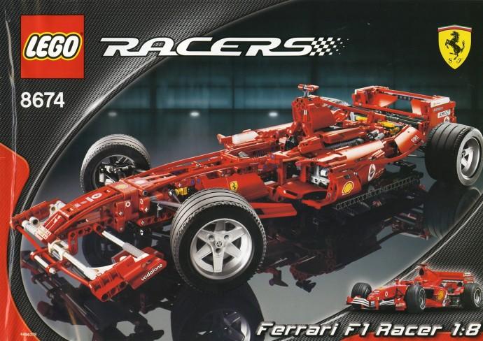 LEGO Technic Ferrari F1 scala 1:8 8674 (2006)