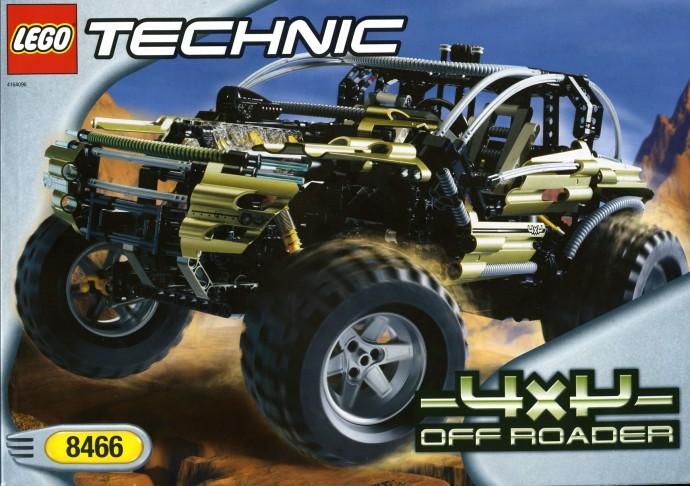 LEGO Technic Fuoristrada 4x4 8466 (2001)