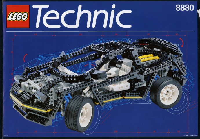 LEGO Technic Super Auto 8880 (1994)