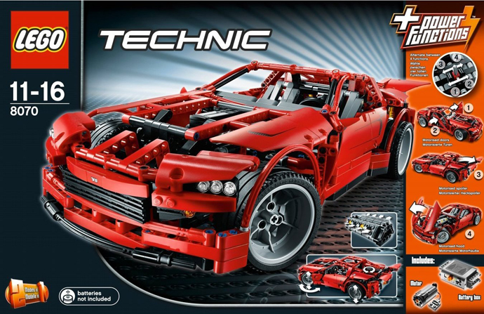LEGO Technic Super Car Elettrica 8070 (2011)