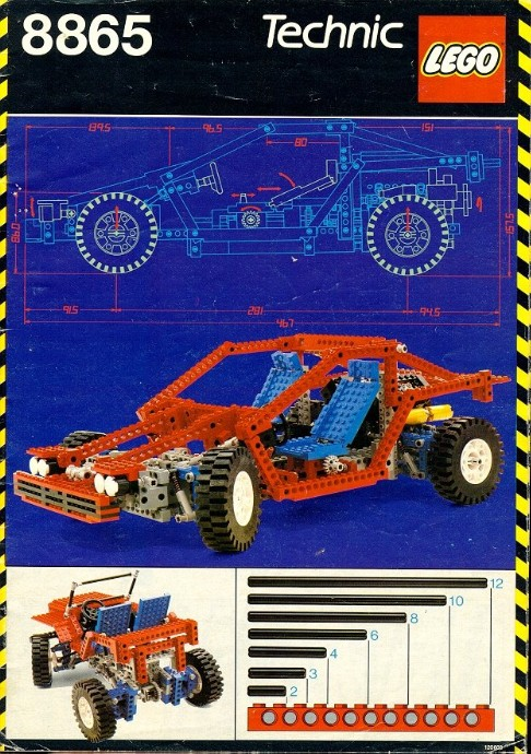 LEGO Technic Test Auto 8865 (1988)