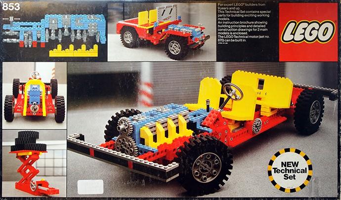 LEGO Telaio Auto 853 (1977)