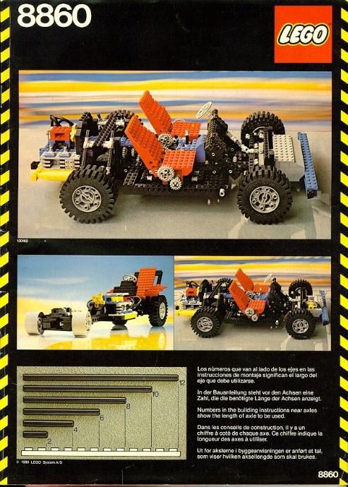 LEGO Telaio Auto 8860 (1980)