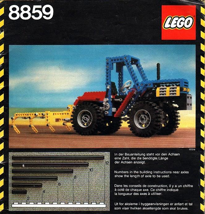 LEGO Trattore 8859 (1981)