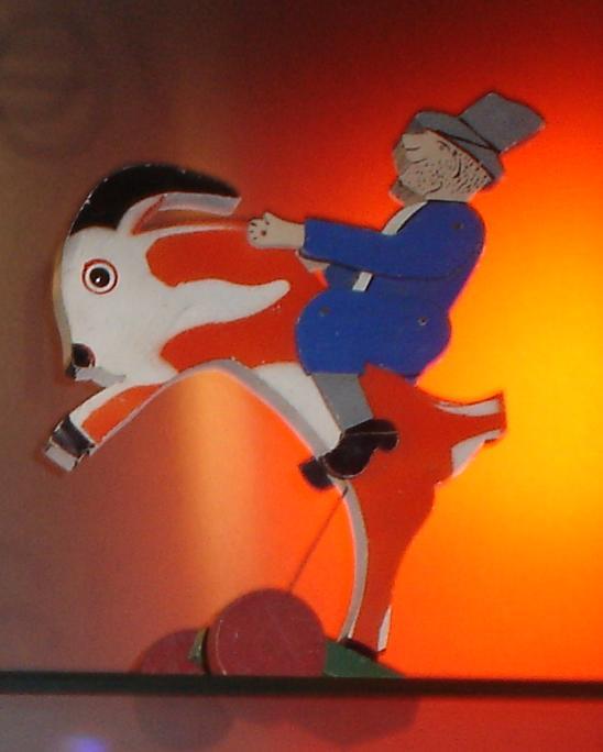 Storia della LEGO - 1936 - Numskull Jack sulla capra
