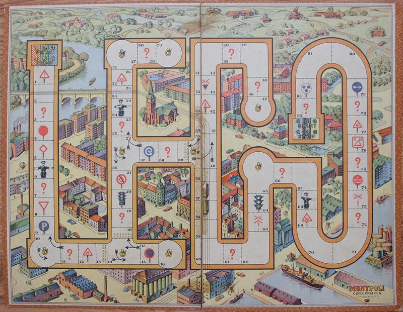 Storia della LEGO - 1947 - Gioco da tavolo Monypoli
