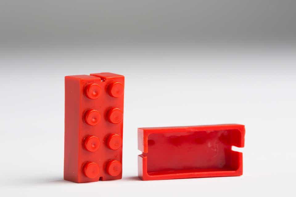 Storia della LEGO - 1949 - Mattoncini storici senza Tubi