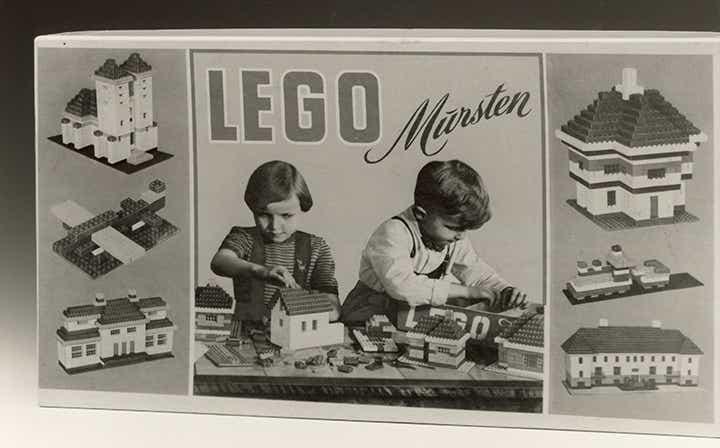 Storia della LEGO - 1953 - LEGO Mursten