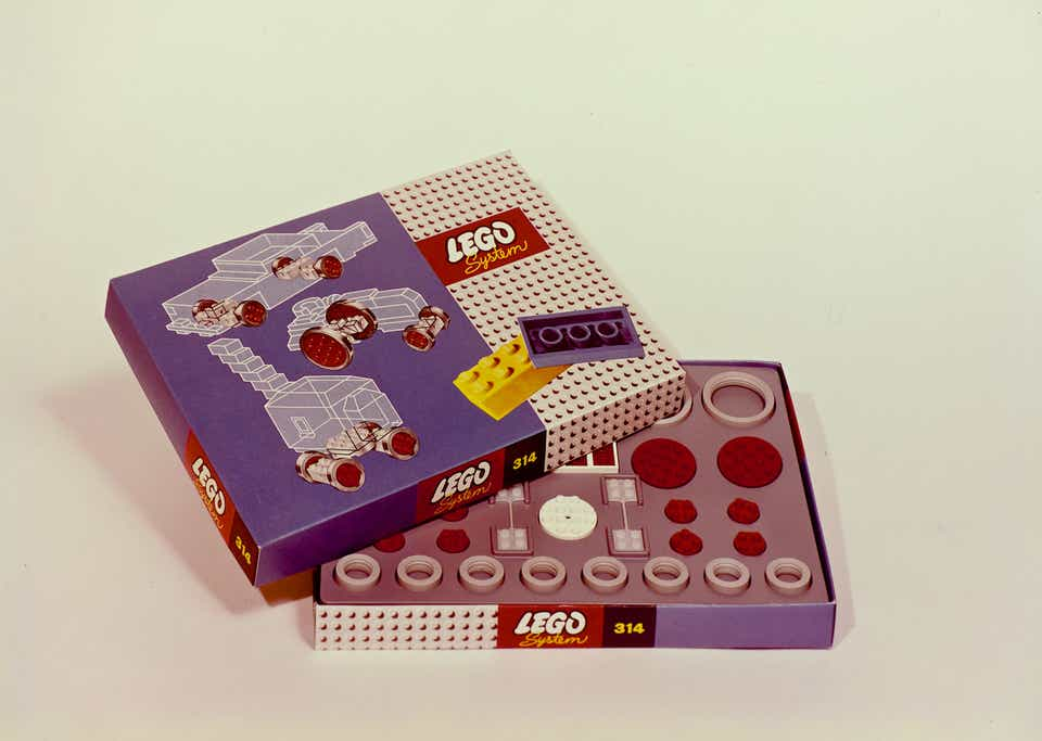 Storia della LEGO - 1963 - Scatola LEGO degli anni '60