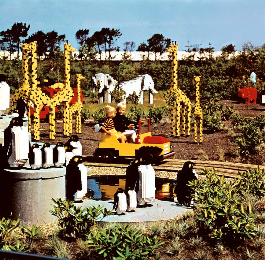 Storia della LEGO - 1968 - Apertura LEGOLAND