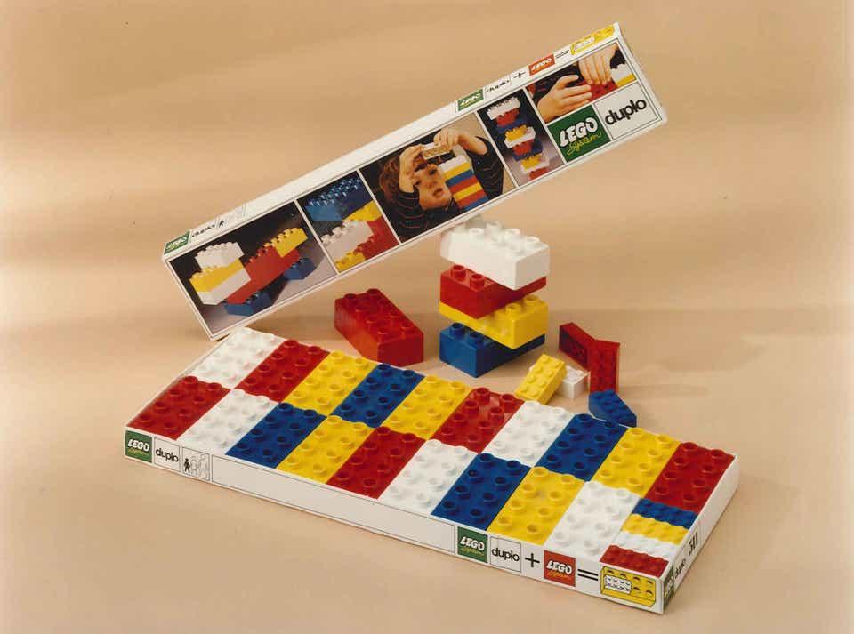 Storia della LEGO - 1969 - Mattoni LEGO DUPLO