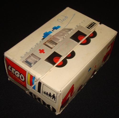Storia della LEGO - 1970 - Scatola LEGO Impulse per auto