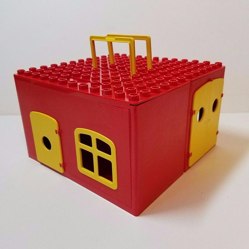 Storia della LEGO - 1979 - Scatola DUPLO a forma di Casa