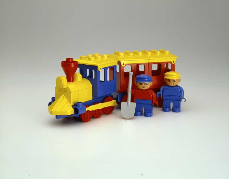 Storia della LEGO - 1983 - Treno DUPLO