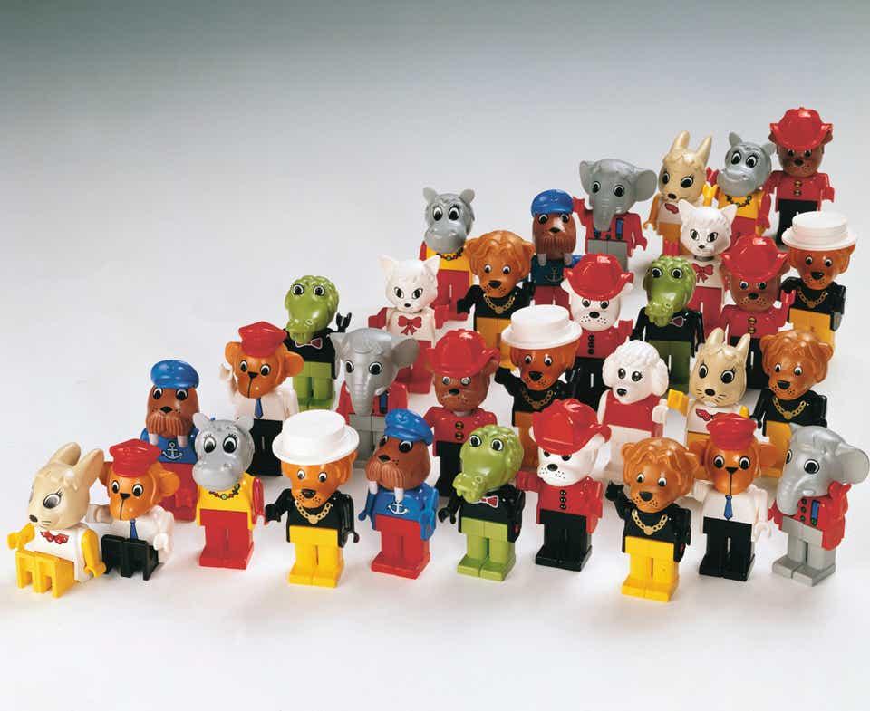 Storia della LEGO - 1984 - Foto storica dei LEGO FABULAND