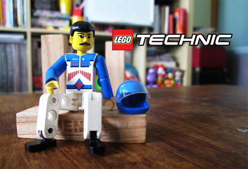 Storia della LEGO - 1986 - Figura della linea TECHNIC