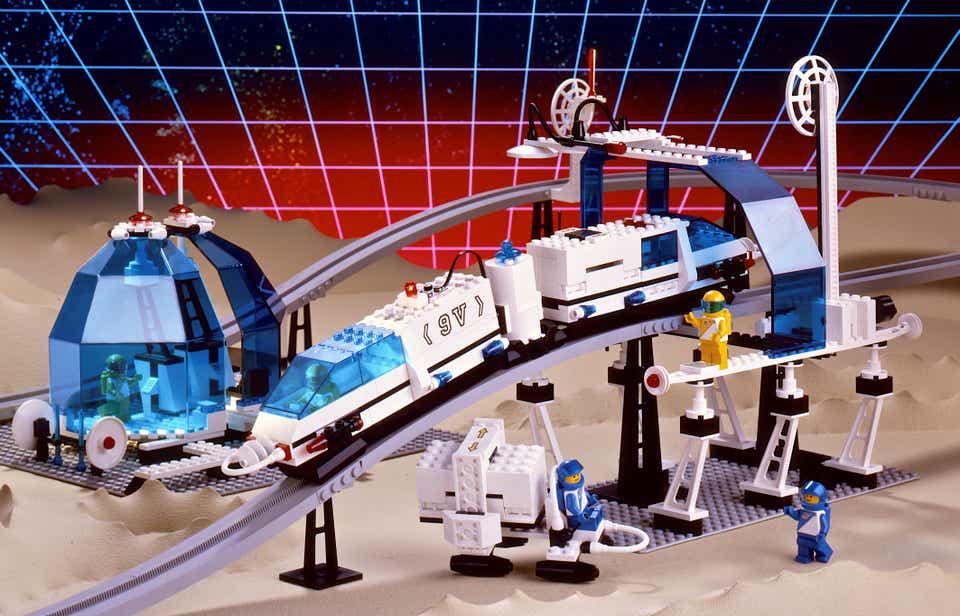 Storia della LEGO - 1987 - Monorotaia Spaziale LEGO