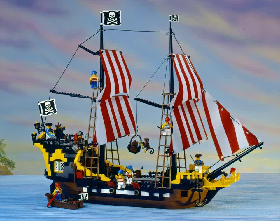 Storia della LEGO - 1989 - Nave Pirata LEGO