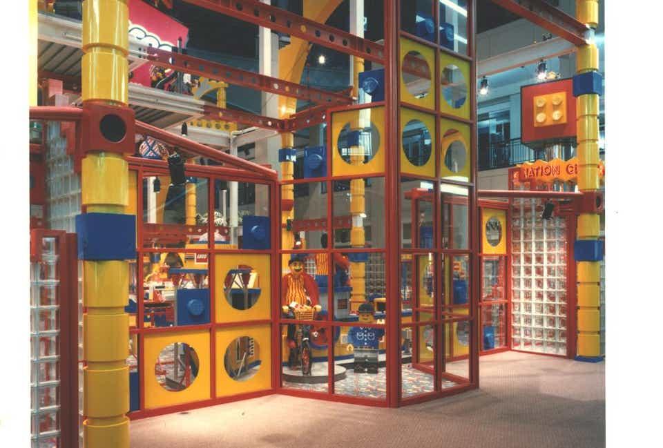 Storia della LEGO - 1992 - Centro di Immaginazione LEGO