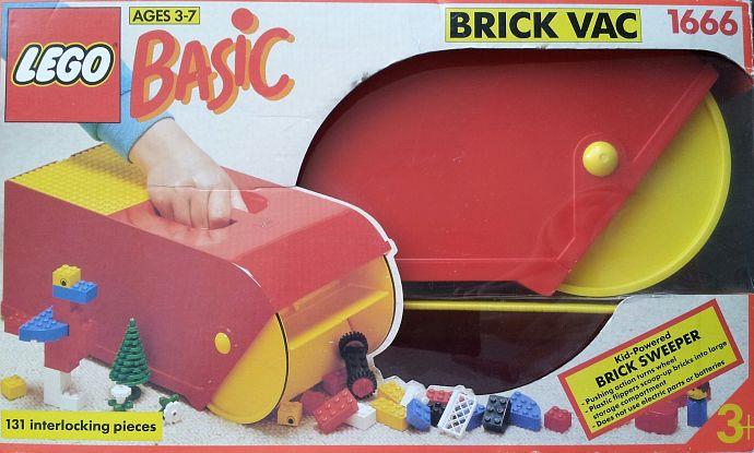 Storia della LEGO - 1993 - Brick Vac base della LEGO SYSTEM