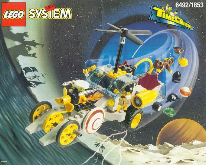 Storia della LEGO - 1996 - Macchina del Tempo LEGO SYSTEM