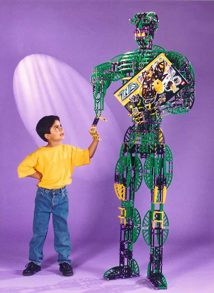 Storia della LEGO - 1998 - LEGO Mindstorms ZNAP