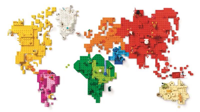 Storia della LEGO - 2015 - LEGO nel Mondo