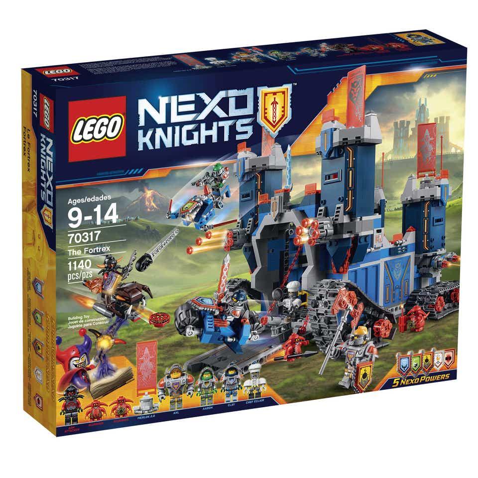Storia della LEGO - 2016 - LEGO Nexo Knights