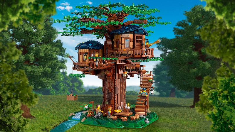 LEGO Ideas - Casa sull'Albero - Set 21318