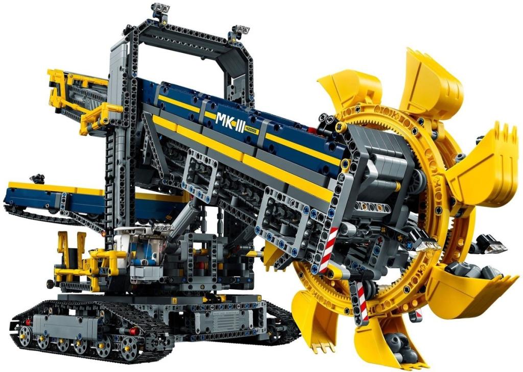 LEGO Technic Set 42055 Escavatore - MK3 - di David Aguilar