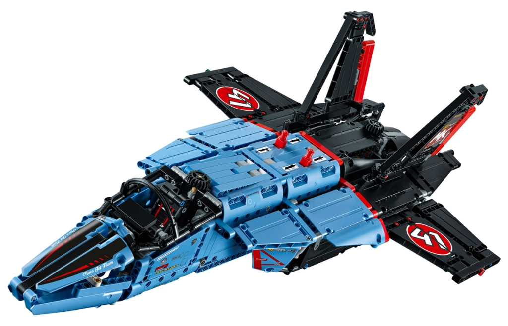 LEGO Technic Set 42066 Jet da Gara Aerea - MK2 - di David Aguilar
