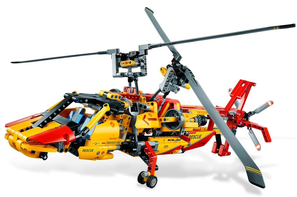 LEGO Technic Set 9396B Elicottero a Doppio Rotore - MK1 - di David Aguilar