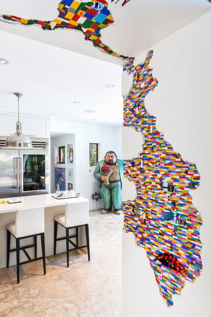 LEGO Walls - I Muri in LEGO di Dante Dentoni - Arte LEGO - Positività, SEMPRE