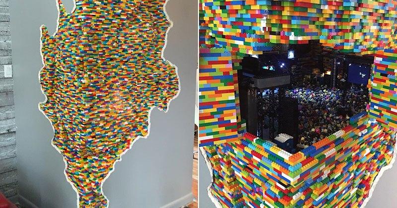LEGO Walls - I Muri in LEGO di Dante Dentoni - Arte LEGO - ...è ciò, e dopo?