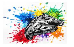 Homepage del Blog LEGO