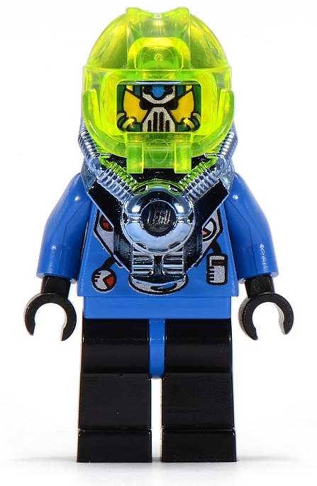 Lista Minifigure LEGO Aquazone Hydronauts
